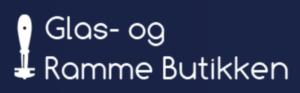 Glas og rammebutikken logo