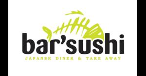 Bar sushi sort logo