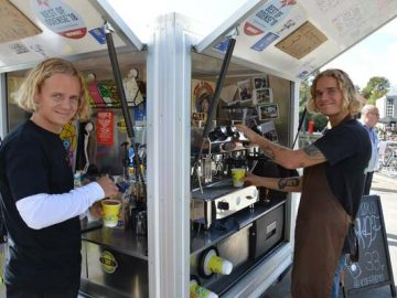 Koffie Boys til RAP om KAP